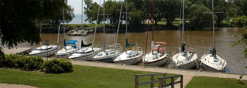Bronte Harbour in Oakville