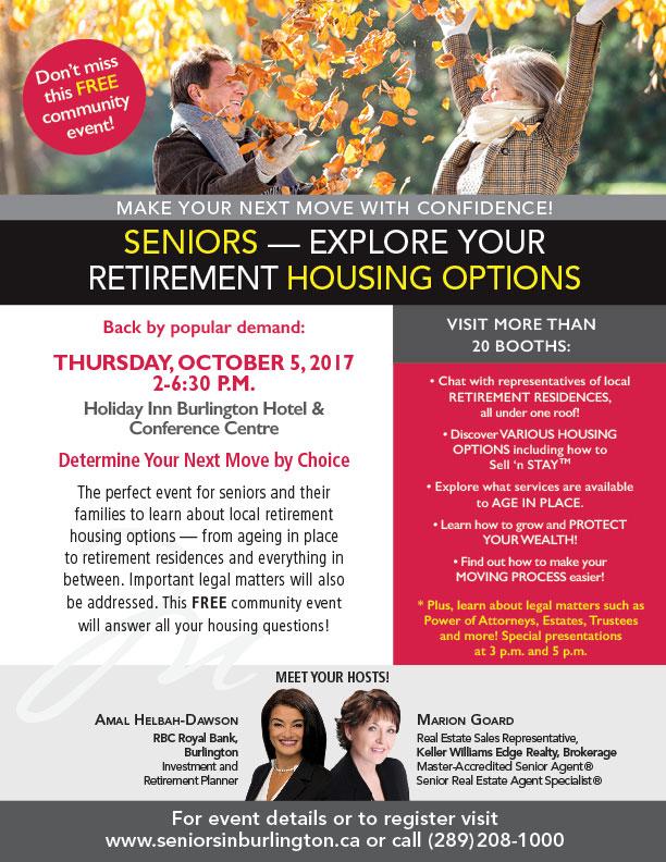 MG Seniors Event Flyer