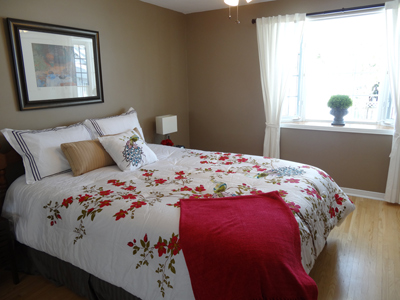 Photo of a Bedroom after staging