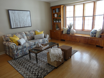 Photo of a Living Room after staging