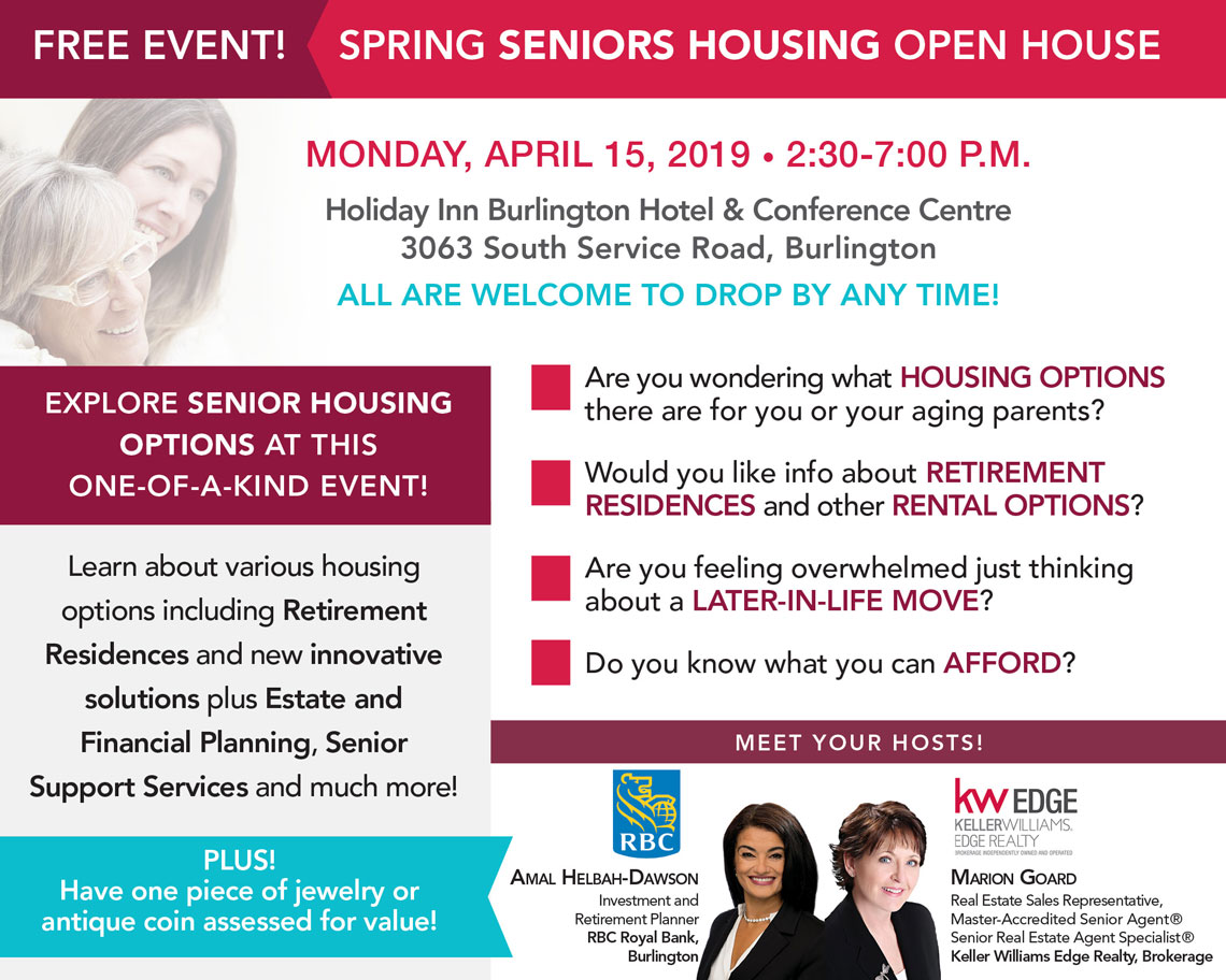 Marion Goard Seniors Event Flyer April 2019