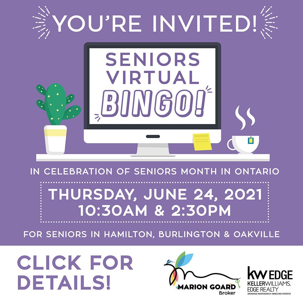 Marion Goard Seniors Event Flyer June 2021